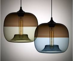 Glass Lights Pendants Charming Design Blown Glass Ls Ideas Contemporary Blown Glass