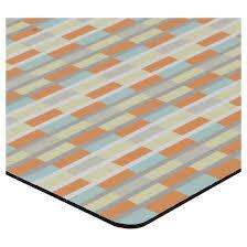 block design kitchen floor mat rug target