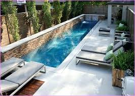 Pool Ideas For A Small Backyard Small Inground Pool Ideas Backyard Swimming Pools Designs Amazing