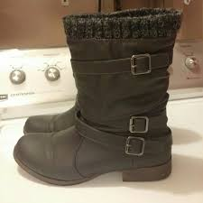 justfab s boots 63 justfab shoes justfab nafise boots size 10 from