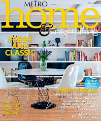 home interior decorating magazines best 2011 interior design magazine metro home