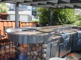 outdoor kitchen island home decoration ideas