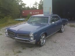 4 Door Muscle Cars - 1966 pontiac tempest custom 4 door no post 326 v8