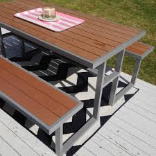 Modern Picnic Table Designs Google Search Wood Steel - Picnic tables designs