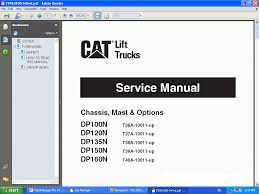 cat caterpillar lift trucks catalog catalogue 2014