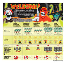 Six Flags Schedule The Ultimate Guide To S A U0027s Spooky Halloween Attractions San