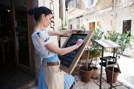 blue martini waitress the basics of up selling menu items