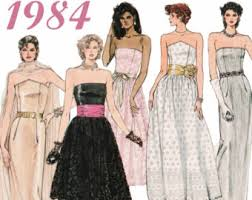 prom dresses from the 80s 80s prom dress etsy