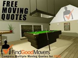 pool table moving company compare pool table movers moving companies free quotes