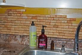 how to make a backsplash in your kitchen make cork backsplash your kitchen tutorial jaderbomb tierra este
