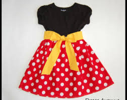 Mickey Mouse Toddler Costume Minnie Mouse Dress Etsy