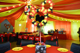 1st birthday party decorations at home interior design mickey mouse themed party decorations beautiful