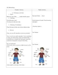 detailed lesson plan in science and health grade 3 sense organ