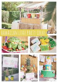 Luau Party Table Decorations Luau Birthday Party Pretty My Party