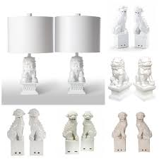barbara cosgrove mini foo dog lamps foo dog lamps ralph lauren foo