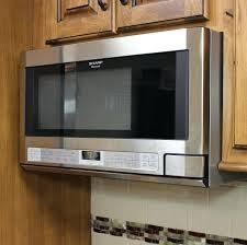 sharp under cabinet microwave sharp cabinet microwave sharp carousel cu ft mid size microwave
