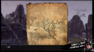 Old Treasure Map The Elder Scrolls Online Stonefalls Treasure Map 2