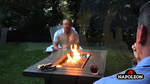 The Patio Flame Napoleon Patioflame Tables Europe Youtube