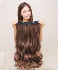 clip in human hair extensions one clip in human hair extensions wave curly