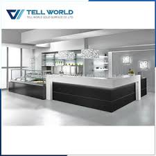Reception Desk With Glass Display Commercial Modern Restaurant Glass Display Reception Desk View