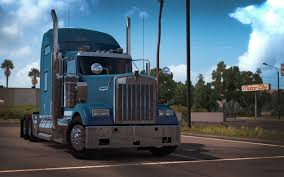 kenworth w900 model truck kenworth w900 is now official in american truck simulator