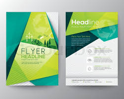 brochure design template real estate brochure flyer design vector