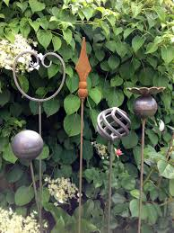 metal art plant supports home i am using old curtain rods in my