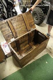Build Your Own Toy Chest Bench by Trunks And Chests Furniture Foter