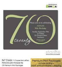 the 25 best 70th birthday invitations ideas on pinterest 70