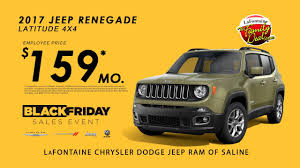 black friday 2017 tires lafontaine jeep of saline falalafontaine 2017 jeep renegade 159
