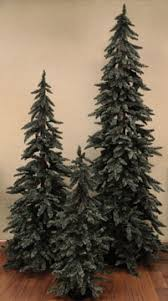country decor downswept alpine tree 5 ft country