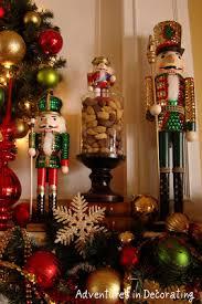 Nutcracker Christmas Tree Ornaments adventures in decorating nutcracker mantel