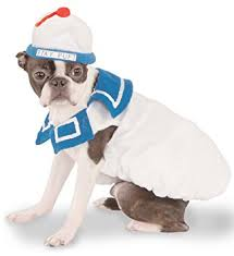 stay puft marshmallow costume ghostbusters pet costume medium stay puft