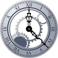 free clock vector clip art library