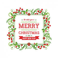 green and red floral background for christmas vector free download