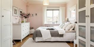 Gray And Pink Bedroom by Fusion Of Dark And Light In This Cozy Apartment Bedrooms