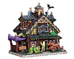 lemax spooky town lemax spooky town creepy crawlies pet sitting battery operated 75184