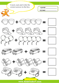 here you can find 14 printable math kids worksheets designed to