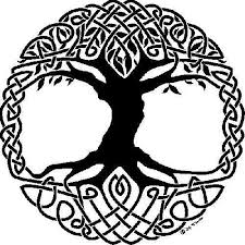 celtic tree of represents strength and wisdom