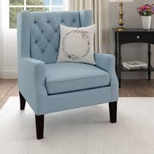 Gingham Armchair Wingback Accent Chairs You U0027ll Love Wayfair