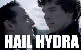 Villain Meme - moriarty you villain the best of the hail hydra meme zimbio