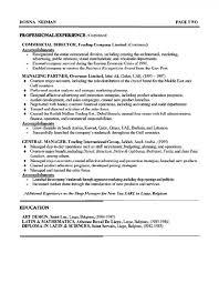 Crisis Management Resume Brand Manager Resume