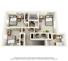 2nd floor plan the oaks luxury townhomes