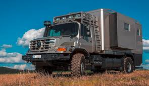 mercedes 6 wheel pickup 2016 mercedes benz zetros next gen heavy hauler combines 6x6