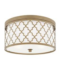 gold flush mount light ellis 3 light 16 inch brushed gold flush mount ceiling light