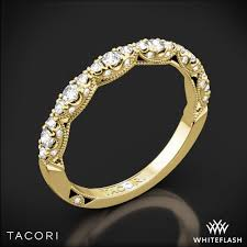 tacori wedding bands tacori ht2558b12 crescent diamond wedding ring whiteflash