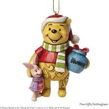 disney traditions winnie the pooh hanging ornament jim shore