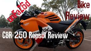cbr bike on road price honda cbr 250 repsol bike review youtube