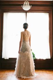 feather wedding dress 10 wedding gowns of feathers