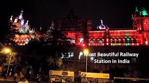Beautiful Lighting Beautiful Lighting On Cst Railway Station Mumbai Ii Goldy Travels